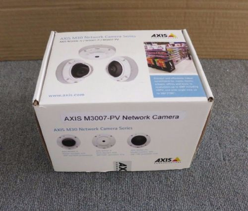 Axis M3007-PV Network CCTV Camera Fixed Dome Indoor Dustproof Vandal-Proof